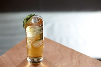 Bulleit Bourbon & Ginger Ale