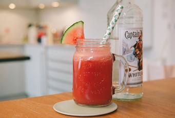 Captain's Watermelon Daiquiri