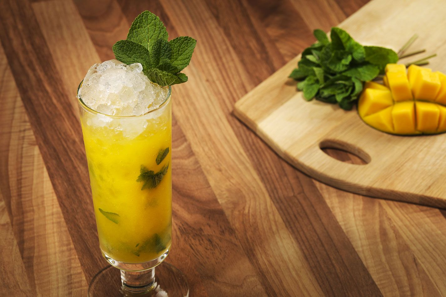 Mango fizz mocktail non alcoholic mango cocktail recipe for How to make non alcoholic drinks