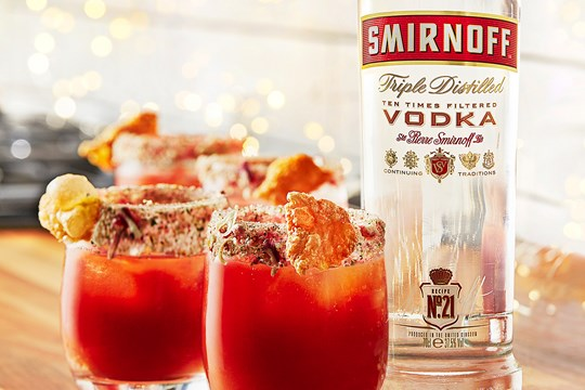 Smirnoff Bloody Mary with all the Trimmings