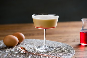 Gin and Sherry Eggnog