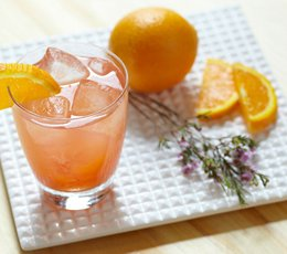 Gordons ruby cooler gin cocktail recipes the bar for Wine and orange juice name