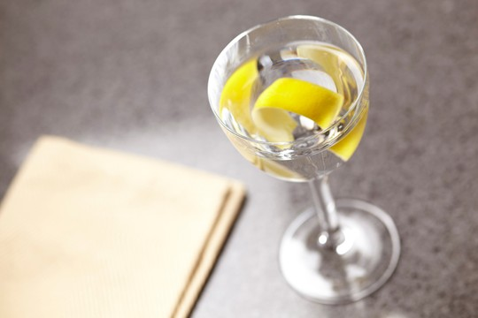 Tanqueray Ten Martini