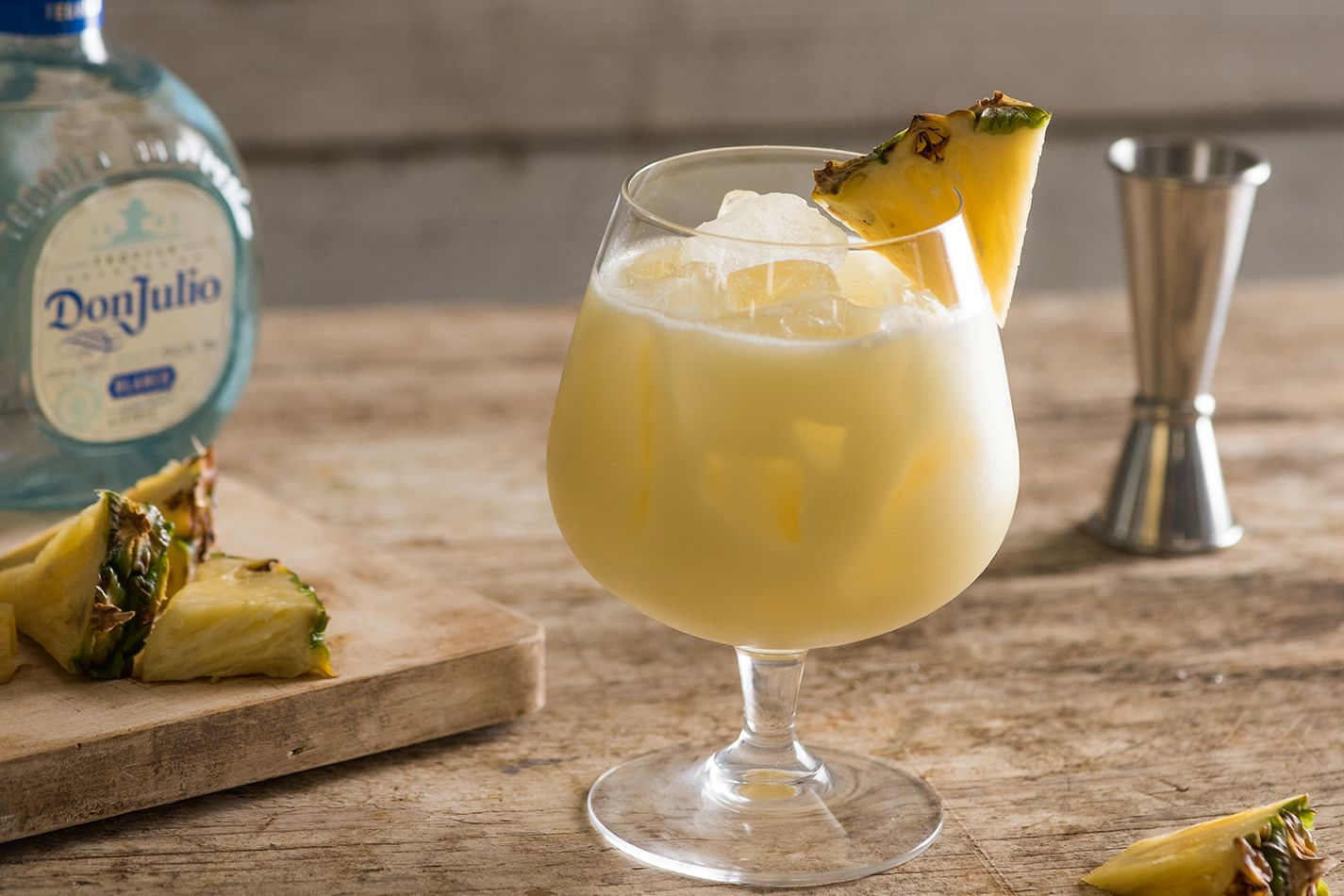how to make tequila pina colada cocktail recipe