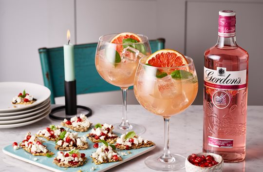 Gordon's Pink Grapefruit Fizz