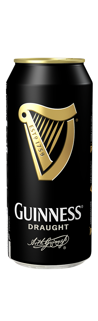 Guinness product shot