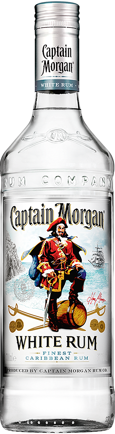 Captain Morgan® White Rum product shot