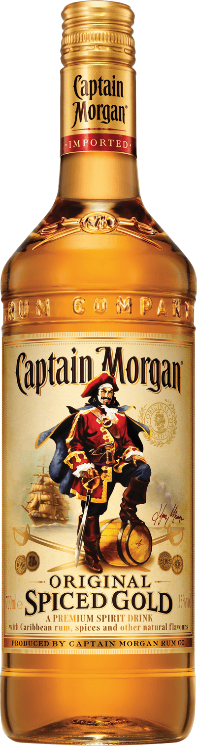 Captain Morgan® Rum product shot