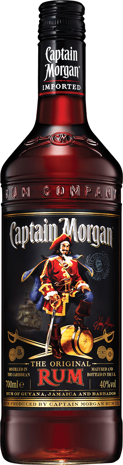 Captain Morgan® Original Rum product shot