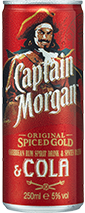Product image for Captain and Cola Premix