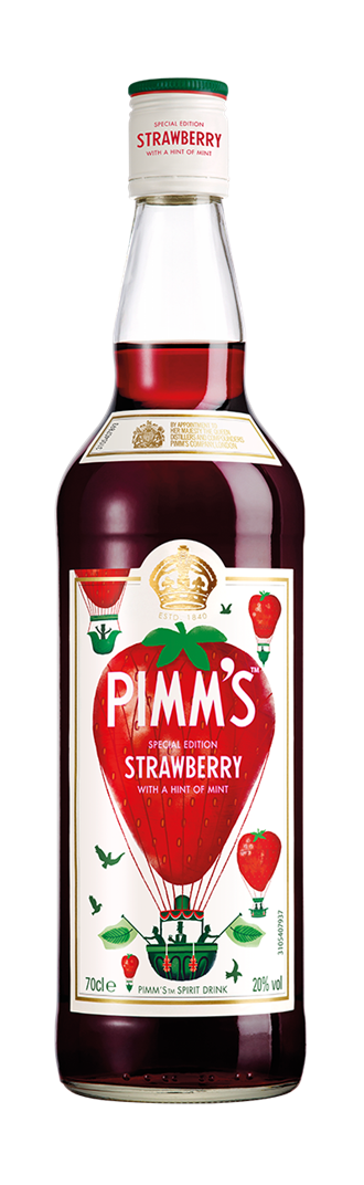 Pimm's® Strawberry with a Hint of Mint