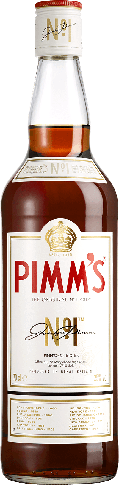 Pimm's® product shot