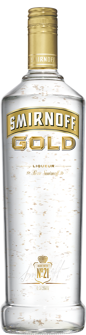 Smirnoff® Gold product shot