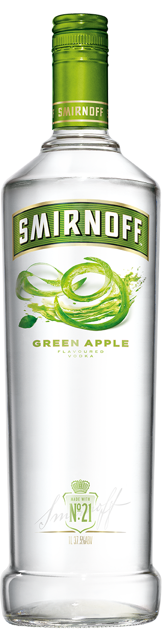 Smirnoff green apple vodka and cranberry juice recipe for Green cocktails with vodka