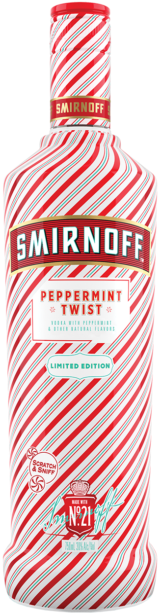 Smirnoff Peppermint Twist product shot